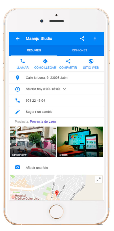 Google My Bussiness Mobile